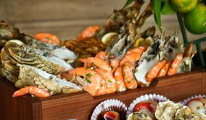 A Dinner for Four at Yalumba Seafood Tuesday's , Le Meridien Dubai