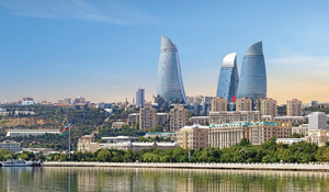 Two Tickets to Baku on Air Arabia