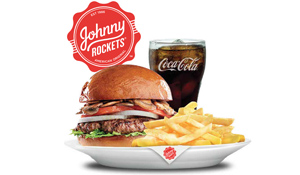 5 Gift Vouchers for Johnny Rockets worth Dhs200