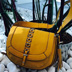 A Nine West Mustard Yellow Bag